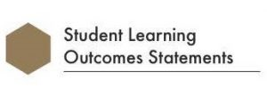 Student Learning Outcomes Statements